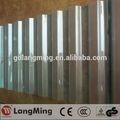 prix de la chine fabrication hot vente polycarbonate ondulé en métal bleu