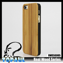newest universal wooden cases for cellphone iphone 5