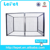 large iron dog kennel with waterproof roof