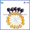 OEM package single twist black cherry lollipop