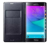 New arrived!!!For samsung note edge flip leather phone case with the function of dormancy