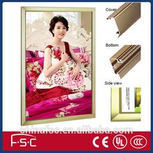 LED aluminum frame for led panel light box