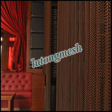 Beautiful metal curtain,decorative wire mesh ,metal drapery for home, bar ,hotel,etc.