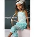2015 marca remake vintage floral laço shorts matching conjuntos de roupa de verão atacado boutique infantil roupa de páscoa