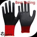 srsafty安全手袋を作業ニトリル手袋を洗浄するための中国の手袋ナイロン