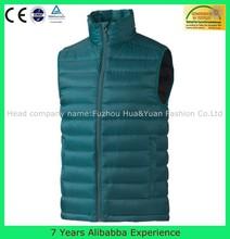 Mens Custom blank Light Weight Padding Vest Folded Plain Down vest -7 Years Alibaba Experience