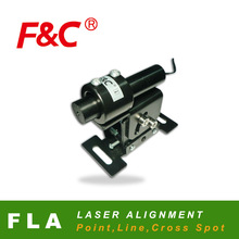 F&C laser alignment FLA series, point, line or cross light spot, wtih adpater.
