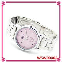 WENS Vogue Watch Stainless Steel GENEVA Brand Watch Women Wrist Watch