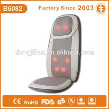 B6082 3d back massager thermal massage cushion