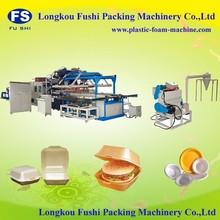 plastics Foam Plate Vacuum Molding Machine