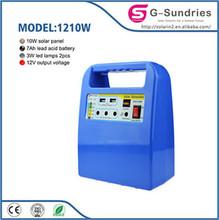 Emergency 20W Mini low price solar system mobile kit