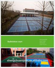 professional pp badminton flooring