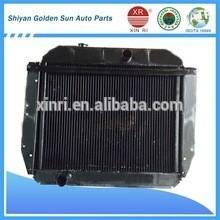Heavy-duty zil 131 truck radiator copper&aluminum aftermarket radiator