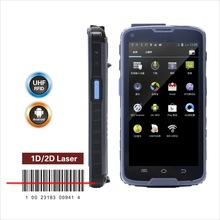 "5"" touch screen high quality android barcode reader phone"