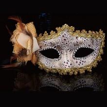 Custom Cheap PVC Face Theme Sale Party Mask