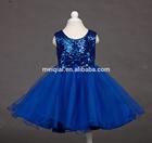 2015 new style children wedding dress sleeveless kids princess sequins bows girls party dress Flowers girls dress