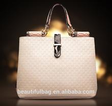beautiful lady handbag leather women hand bag