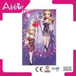 Hot Educational Customized Fashion Doll Plastic Female Doll Supplier