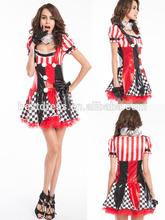 venta al por mayor de china de las señoras de payaso de circo traje de fiesta