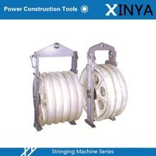 Stringing Equipment : Large Diameter MC Nylon Stringing Block / Stringing Pulley
