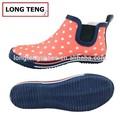 mujer cómodo de goma del tobillo zapatos del jardín