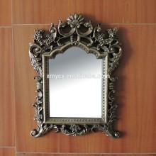 Fashionable resin rococo design mirror frame