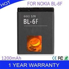 BL-6F Battery For Nokia BL-6F battery 6788 N78 N79 N95 battery 1200MAh