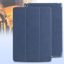 Tablet Case For Apple iPad 6, For iPad Air 2 Flip Smart Cover, Standing Flip PU Leather Case For iPad Air