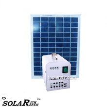 SINOTEK mobile solar power pv system 20W 12V battery home lighting solar power station