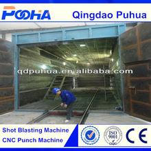 China factory price Puhua brand sandblaster chamber/dust clean equipment
