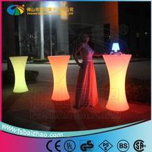 hot sale Luminous led bar table,led light bar table for sale