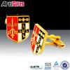 Custom Zinc Alloy Award flag cufflink tie clips
