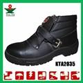 biqueira de açoindustrial marca elegante leve couro calçados de segurança