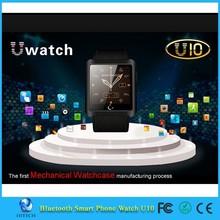 Android 1.54 inch smart watch with bluetooth 3.0 Smart Watch U10 waterproof U Bracelet Smartwatch wristwatch