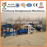 Libya construction projects QTJ4-18 Cement block machine