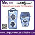 Karaoke micrófono altavoz con USB SD FM de radio