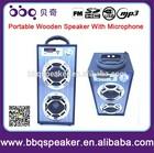 Microphone karaoke speaker with USB SD FM radio