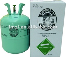 manufacturing refrigerant R134a for car with 99.9% purity