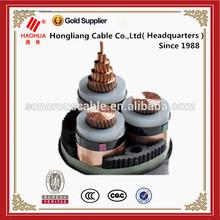Medium voltage 3*70mm XLPE insulation PVC sheathed saudi cable