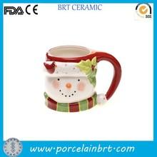 2015 new christmas presents snowman Ceramic Coffee Mug Wholesale