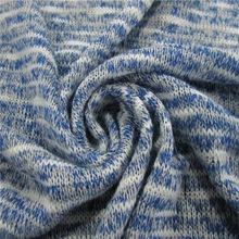 Circular Yarn Dyed Stripe Knitting Sweater Fabric Direct Wholesale From Keqiao Factory