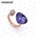 viennois оптовой высокое качество красивая мода обручальное кольцо