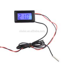 New Arrival PC Car Mod DC5V-25V C/F MINI Digital 4 Pin Port Temperature Thermometer