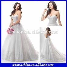 We-2606 atemberaubende aufgedunsen prinzessin ballkleid brautkleid mit herzförmiger ausschnitt marokkanischen hochzeitskleid