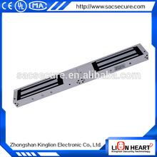 350Kgs double glass door magnetic lock/double door magnetic lock with buzzer