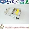 Venta caliente ftth de fibra óptica splitter& de fibra óptica caja de distribución