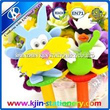 wholesale plastic cartoon ballpen/hot sales ballpen