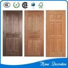 white oak wood veneer door skin, two panel ,two times formation