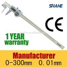 0-150mm/0-6'' tube thickness digital caliper pipe diameter measuring tool