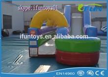 inflatable slip and slide /slip and slide for kids /inflatable slide and slip for sale